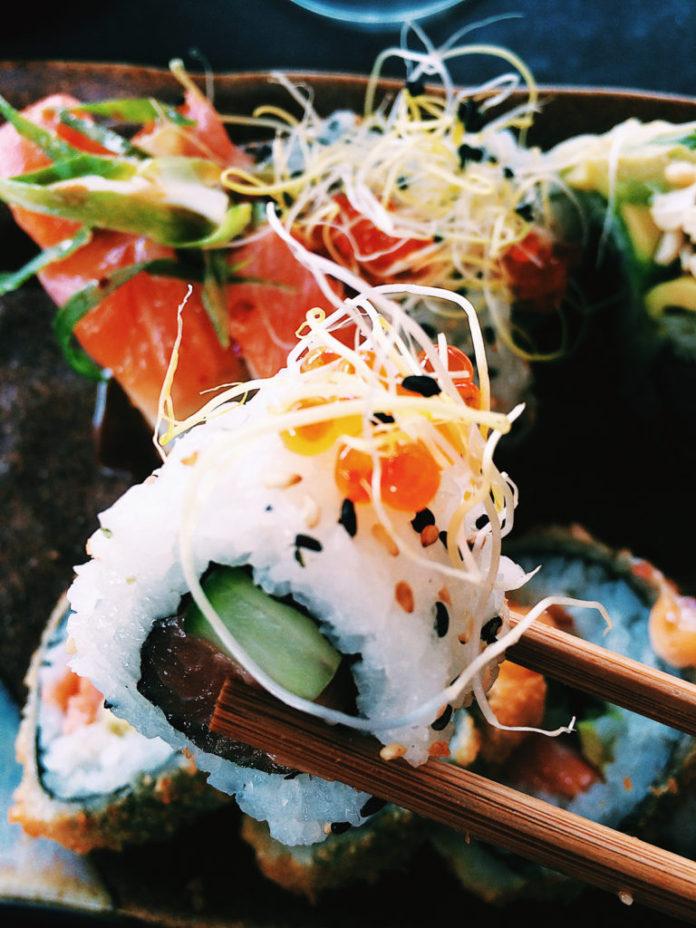 bedste sushi odense